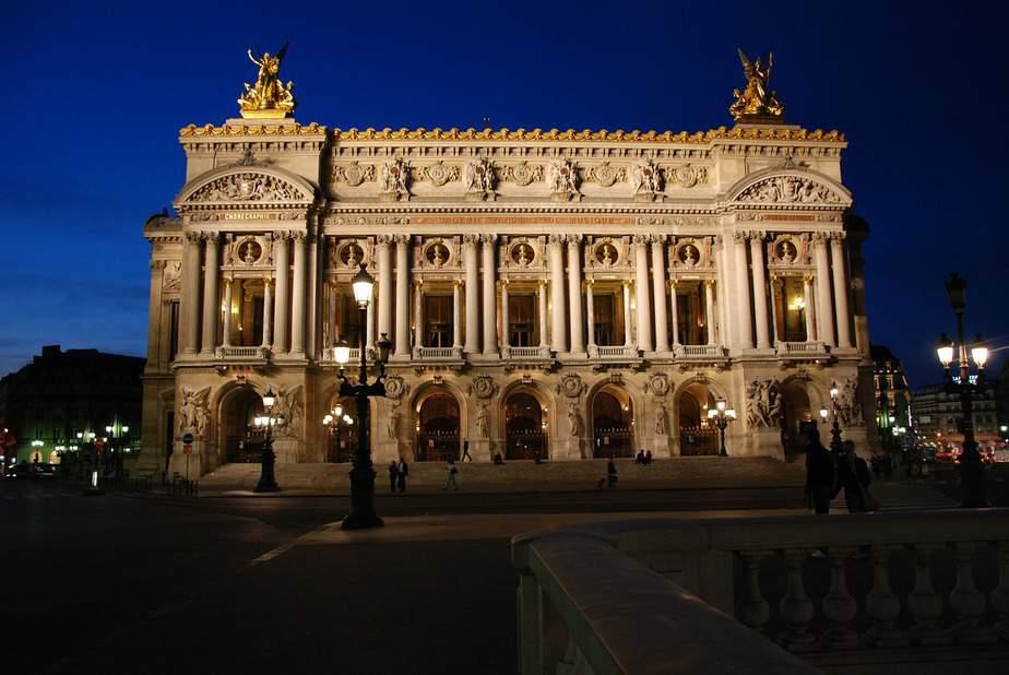 opera facade