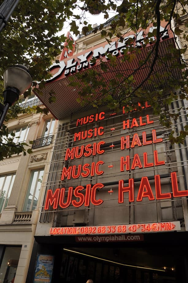 10 Reasons Why The Olympia Hall Is The Greatest Concert Venue In