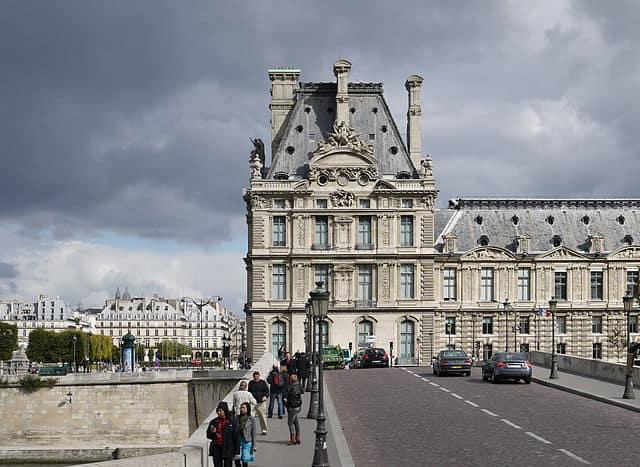 Pavillon de Flore, Palais du Louvre, Paris