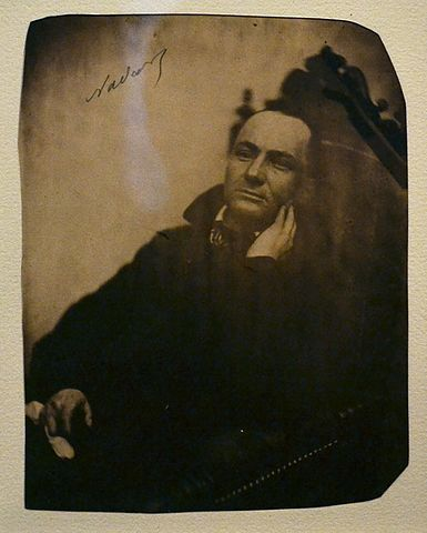 Portrait of Charles Baudelaire by Nadar
