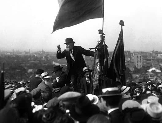 Jean Jaurès in 1913