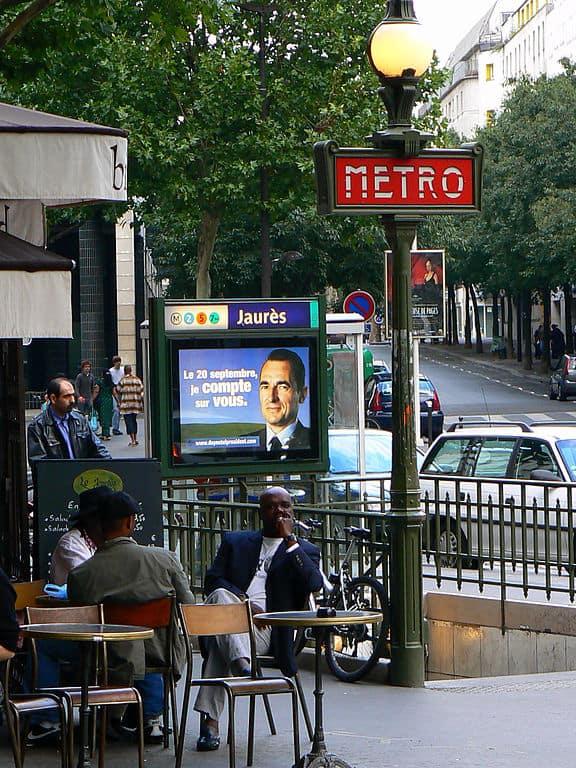 Jaurès metro station, Paris