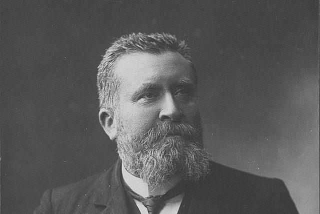 Jean Jaurès, 1890s by Henri Manuel