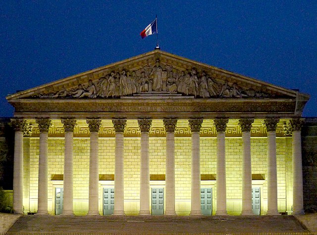 National Assembly in Paris