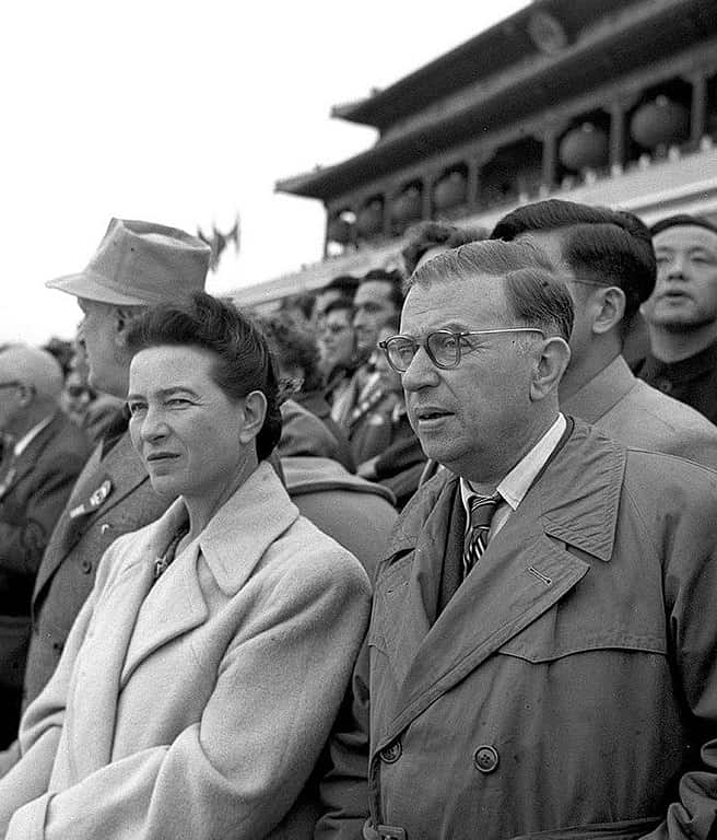 Simone de Beauvoir & Jean-Paul Sartre