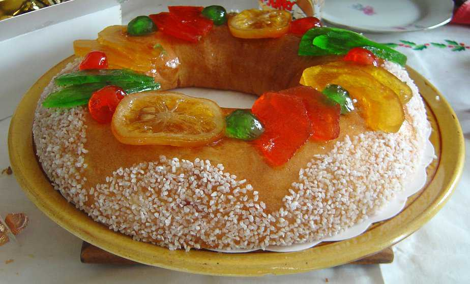 Galette des rois in the south of France