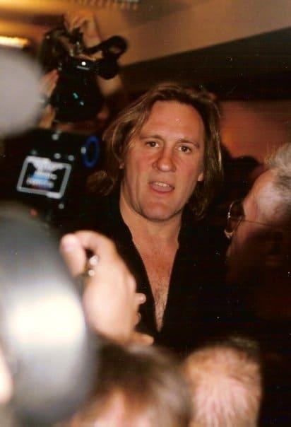 Depardieu in Cannes 1994