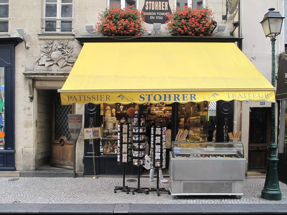 Stohrer bakery
