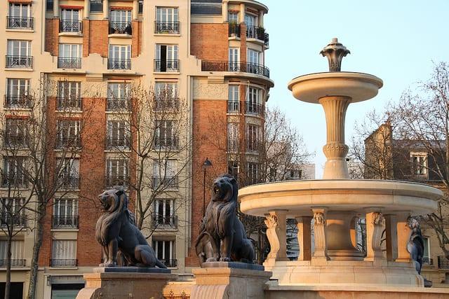 Paris - Fontaine du Château d'Eau