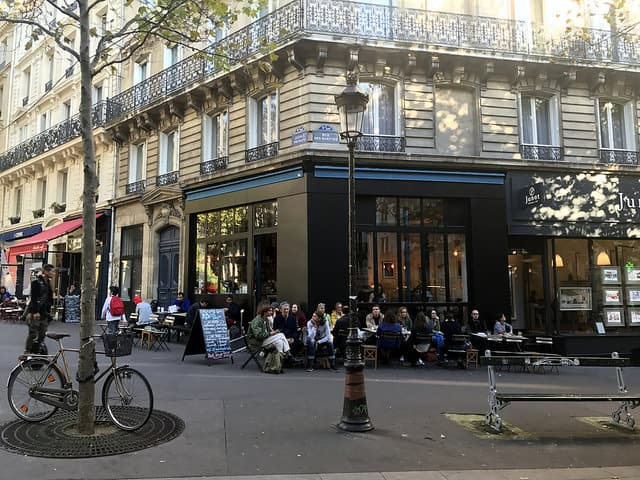 A street in South Pigalle, Paris