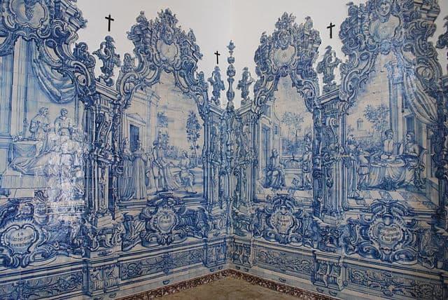 Azulejos (c.1760) of Igreja da Misericórdia, Tavira, Portugal