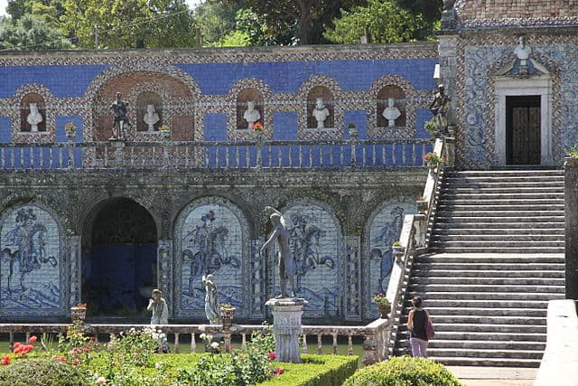 Palace of the marquis of Fronteira, Lisbon.