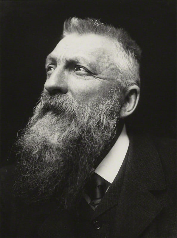 Auguste Rodin by George Charles Beresford