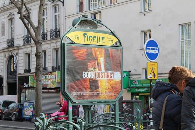 Pigalle metro entrance