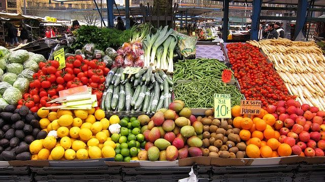 Find fresh produce like this at the Marché Saint-Martin