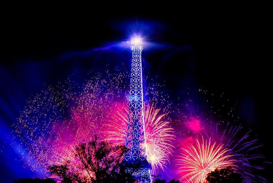 Eiffel Fireworks
