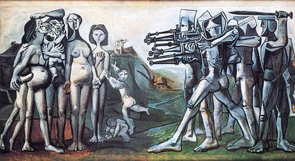 Massacre in Korea by Pablo Picasso
