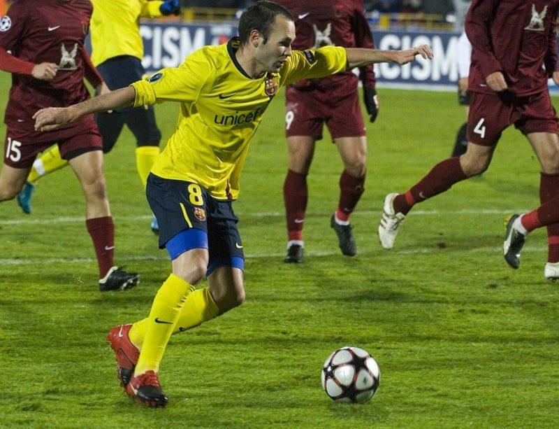 Iniesta Spanish Soccer player