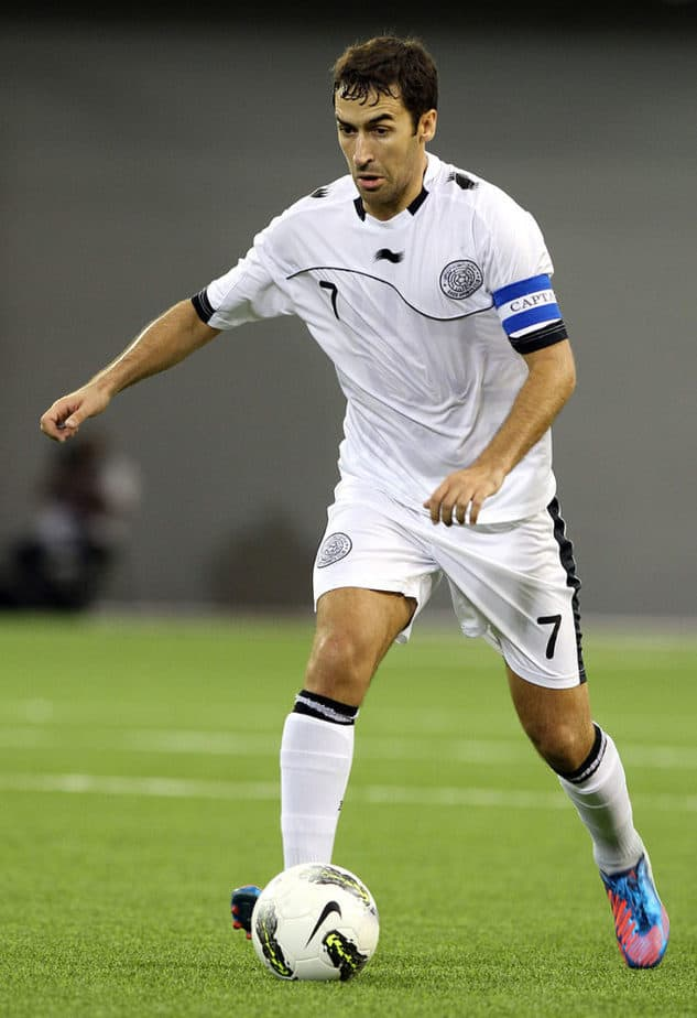 Raul soccer spain