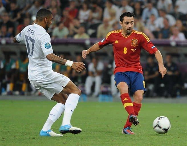 Soccer Spanish Xavi