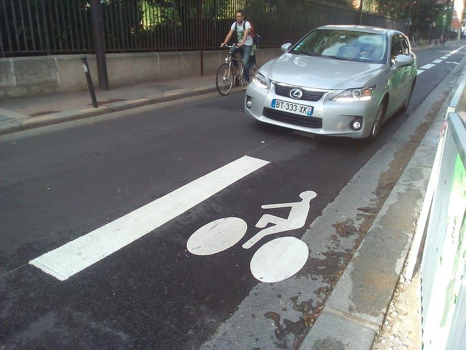 Bike Lane in Paris