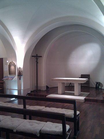 Altar in the Crypte du Martyrium de Saint Denis