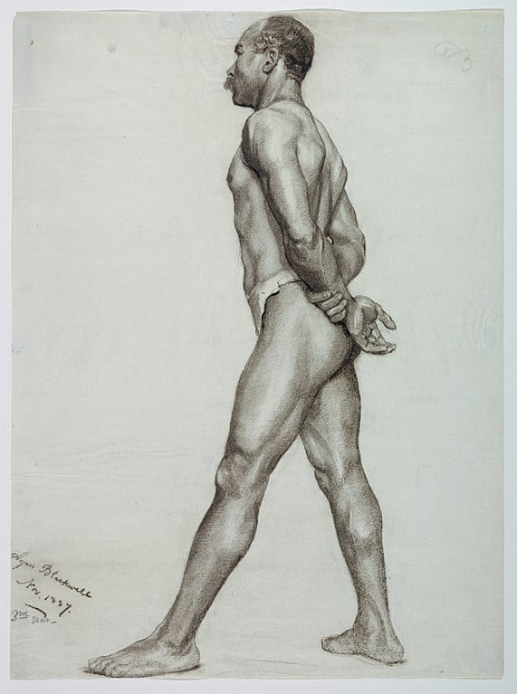 Drawing, Figure of a Man- Study from Life, 1887
