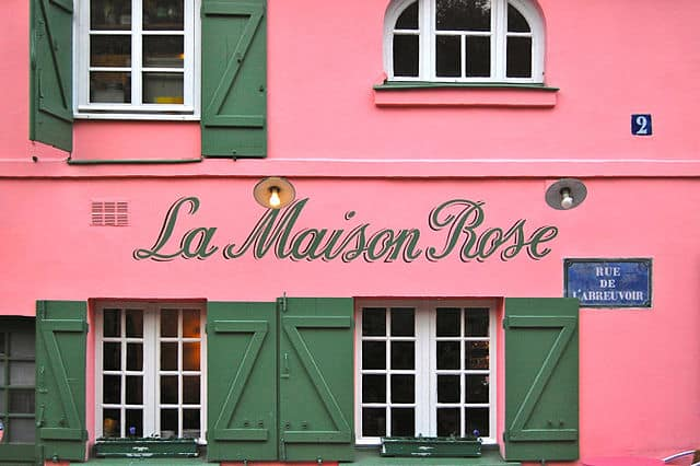 La Maison Rose, Paris 2010