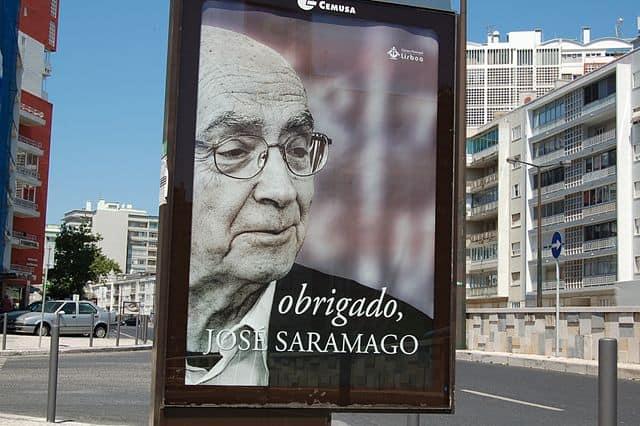 """""""Obrigado"""" Saramago"""