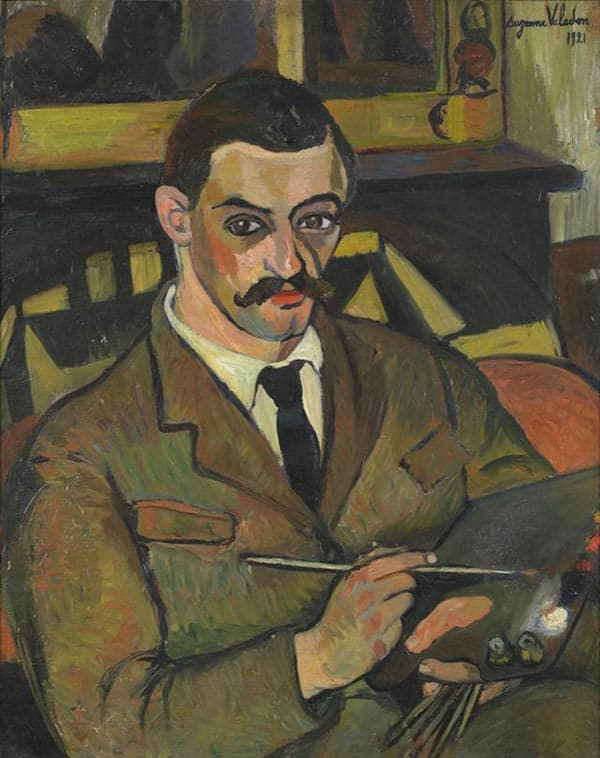 Maurice Utrillo, by Suzanne Valadon