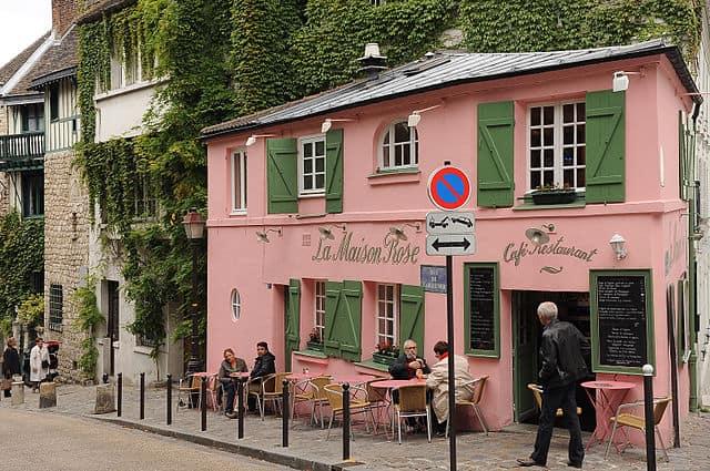 Montmartre Maison Rose