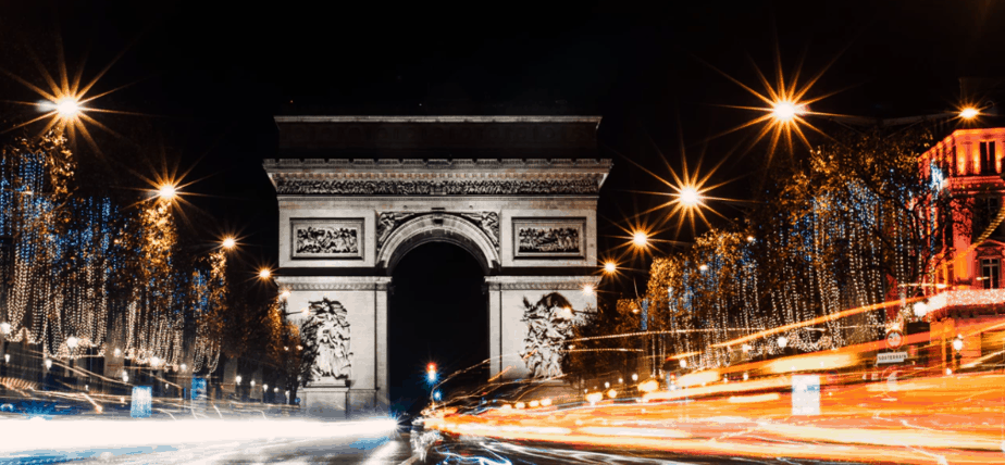 Spend new years eve in Paris
