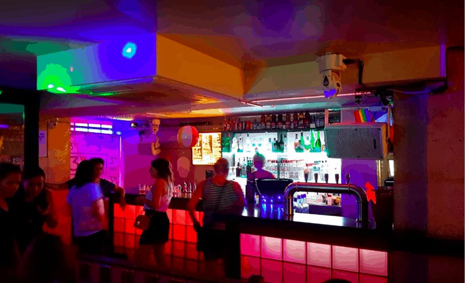 Great lesbian bar paris