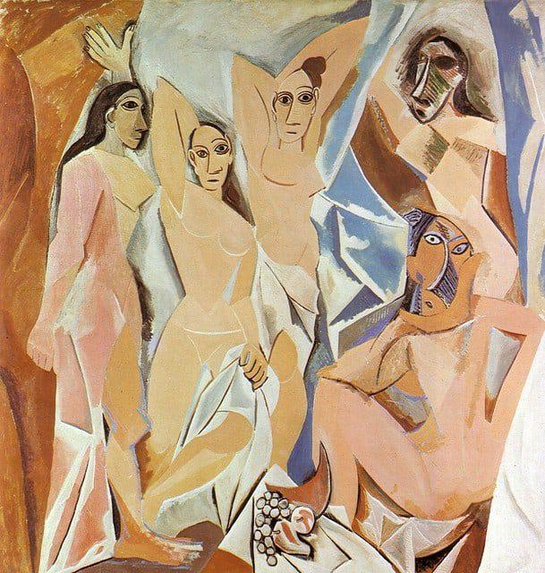 'Les Demoiselles d'Avignon' - Pablo Picasso (1907)