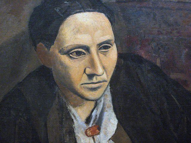 Picasso, 'Gertrude Stein' (detail), 1906
