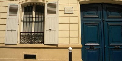 Van Gogh's apartment at 54 rue Lepic Montmartre