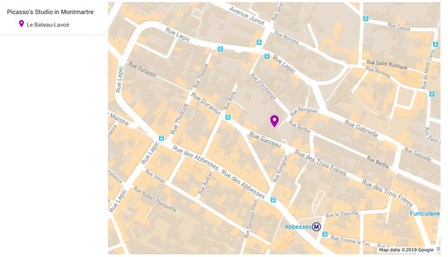 Le Bateau-Lavoir map