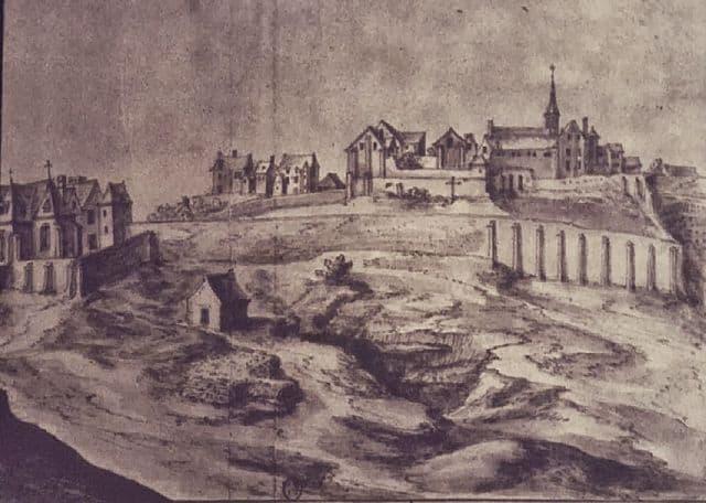 The Montmartre Abbey in 1626