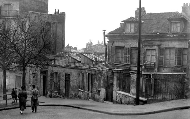 Le Bateau-Lavoir circa 1910