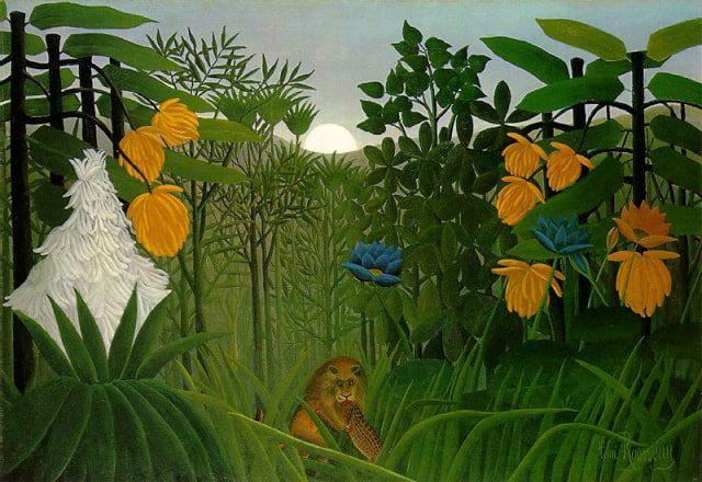 Henri Rousseau's The Repast of the Lion
