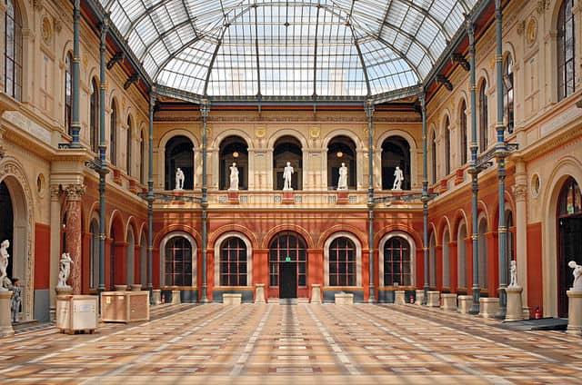 La Cour du Palais des études