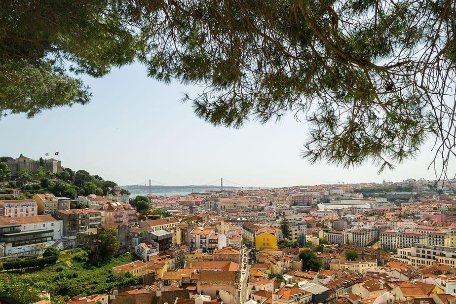 Miradouro in Lisbon