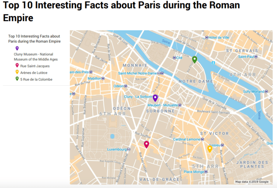 Top 10 Interesting Facts about Paris during the Roman Empire