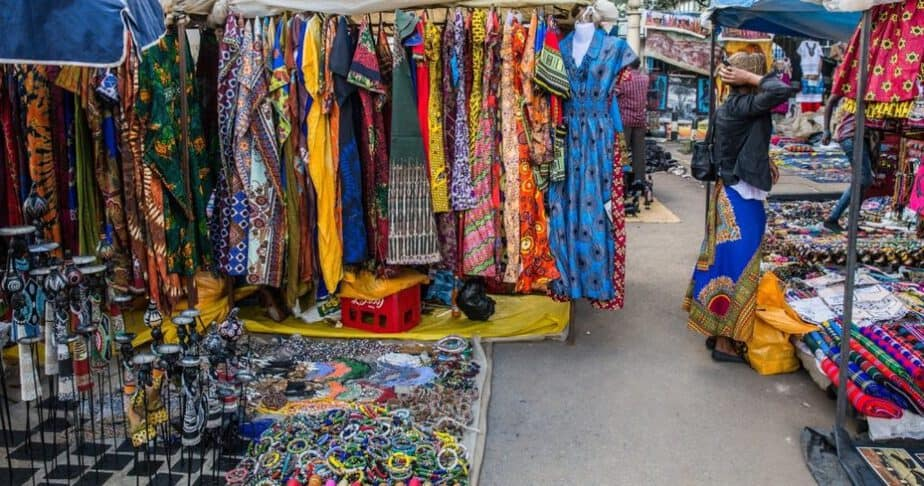 A visit to the Masai Market