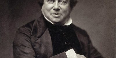 Alexander Dumas père by Nadar