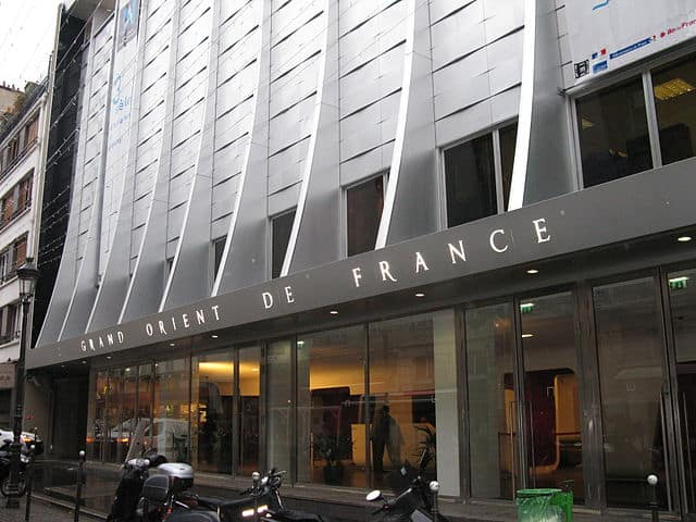 Exterior of the French Museum of Freemasonry