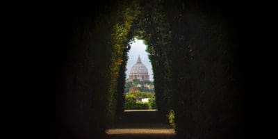 keyhole view St Peter's Basilica Aventine Hill