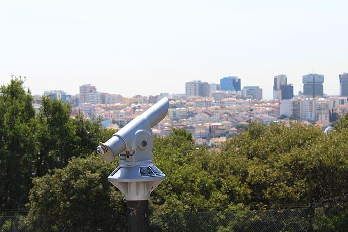 Miradouro Alto da Serafina in Lisbon