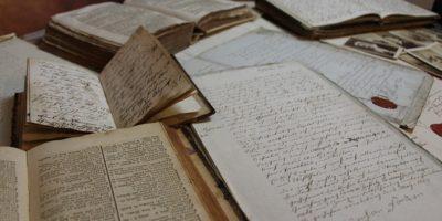 Paper Old Script Book