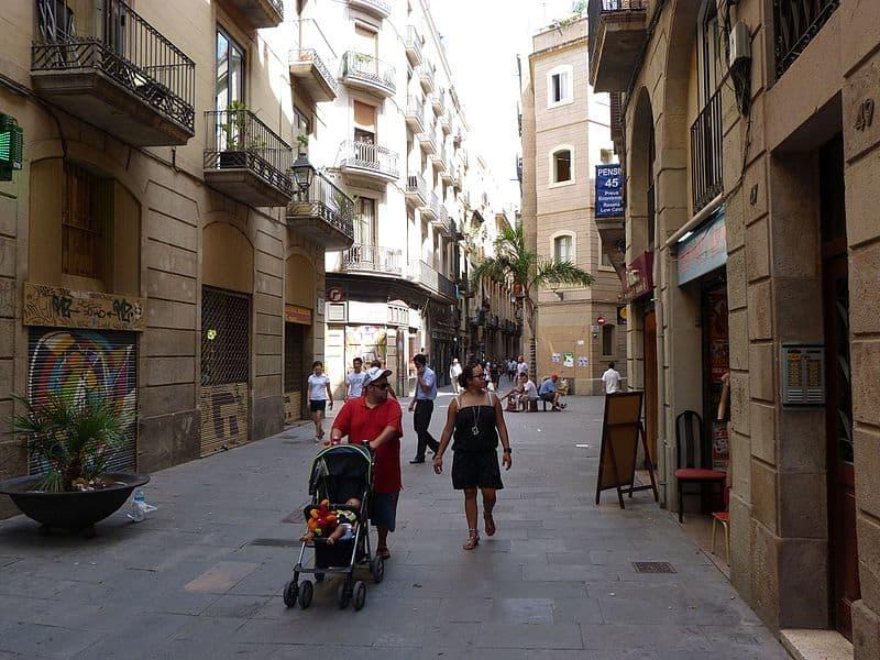 Barcelona street life